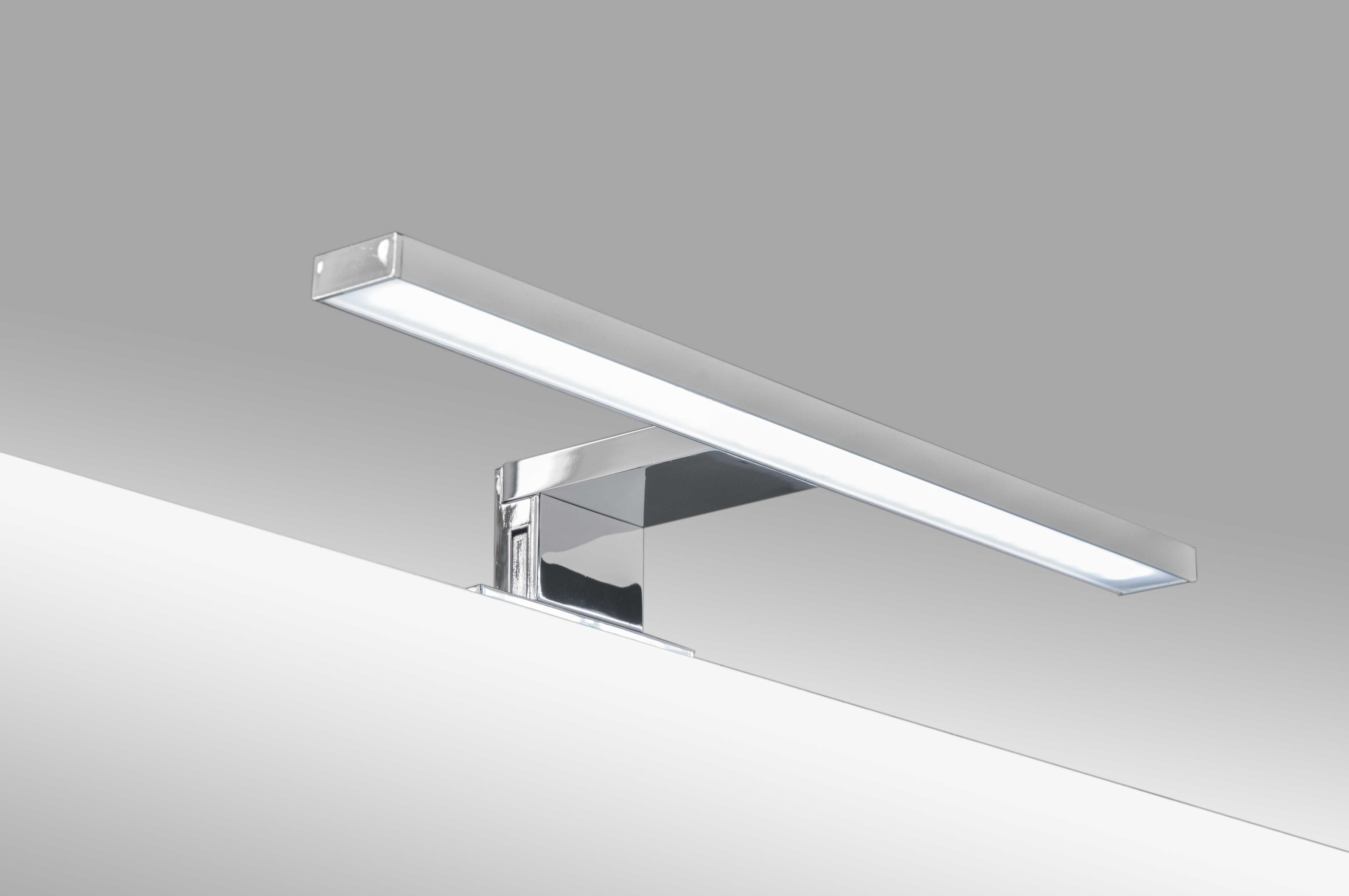 Specchio bagno 60x70 led specchiera bagno lampada led - Specchio con luce per bagno ...