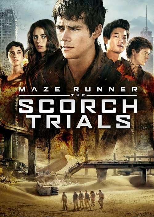 Runner Scorch Trials BluRay